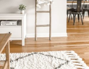 hardwood floors shine after cleaning crew gets done mopping